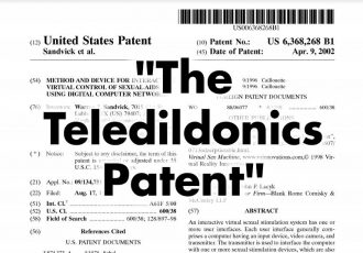 The Teledildonics Patent