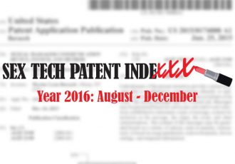 Sex Tech Patent Indexx 2016 August-December